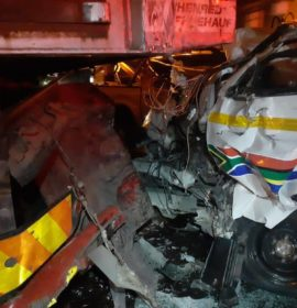 One person injured in a collision on the N3 South near Harrismith