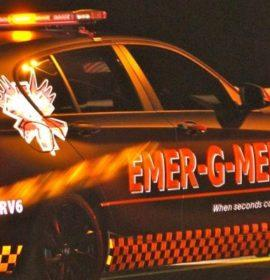 One dead, one seriously injured in a truck collision on the R74
