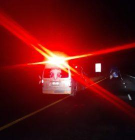 Emer-G-Med responded to a collision involving two trucks in Harrismith