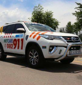Chaos as truck crashes through multiple vehicles on the N3