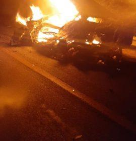 Driver killed in a secondary crash after colliding with an animal on the N1 at Ysterberg