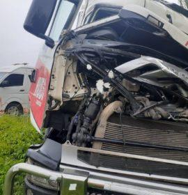 Truck collision on the N3 near Harrismith