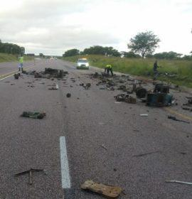 Truck loses load on the N1 in Limpopo