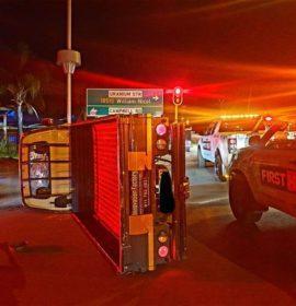 One injured in a collision in Fourways