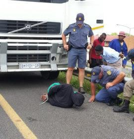 National Traffic Police (NTP) stop hijacking of truck with goods worth R12 Million