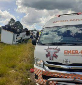 One injured in a collision on the N3 Bergview complex slipway