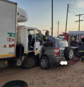 Three killed in a collision at Paledi Mall, Mankweng