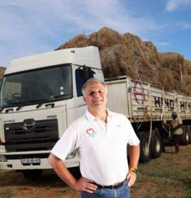 Hino praised in relief efforts and delivery of feed donations to farmers in need