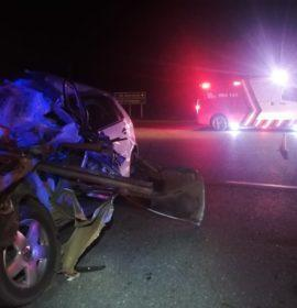 Two killed in collision with truck outside Potchefstroom