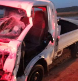 Two injured as trucks collide on the N12, Fochville