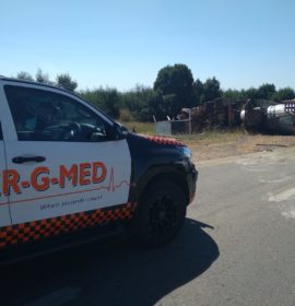 Two-truck collision leaves one injured in Pretoria