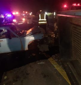One injured in a collision near Nelspruit