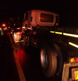 One person injured in a collision on the N3 South between Montrose and Van Reenen