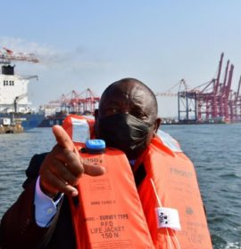 President confident Durban Port will reclaim position as best performing port in Africa