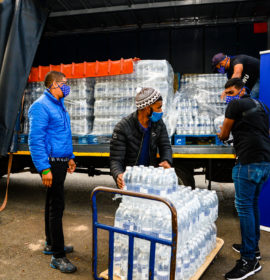 Engen steps up to support brave Cape Town firefighters and displaced students