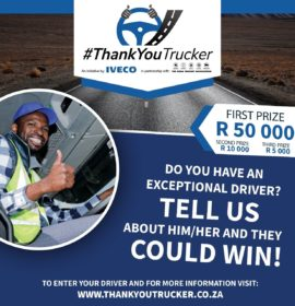 Recognise and celebrate the incredible work of our truck drivers!!