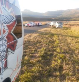 One injured in a collision on the Bergville road, Harrismith