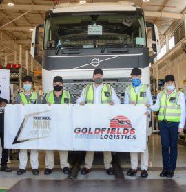 Volvo Trucks SA celebrates handover of First Unit to Goldfields Logistics