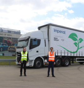 MINI Plant Oxford and Imperial take another step towards sustainability with new fleet of LNG lorries