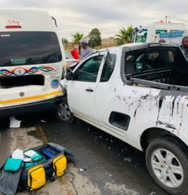 Multiple injured in a serious collision in Honeydew