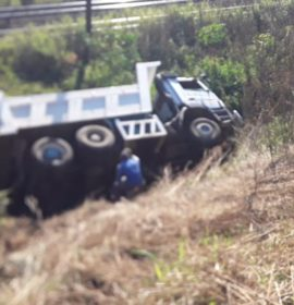 Two injured in a truck and vehicle collision on the N3