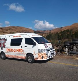 One injured in a truck collision on the R533