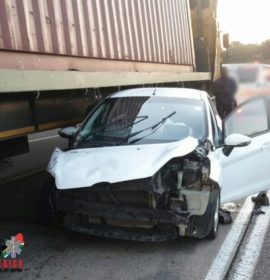 One injured in a serious collision between a truck and vehicle on the M7