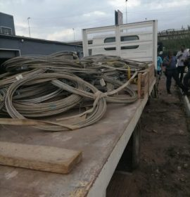 Cable theft operations still on-going, two men in court.