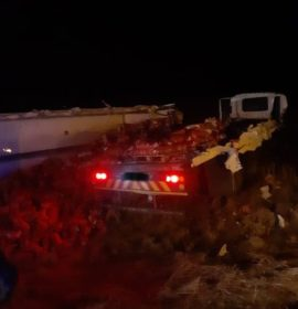 One injured in a collision on the N3, Harrismith
