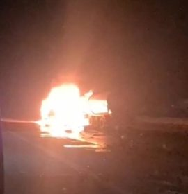 Durban: Truck driver sustains serious burns in fiery crash