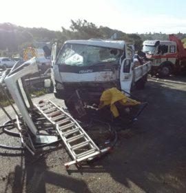 Durban: Two dead, three injured in N2 collision