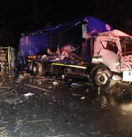 Fatal truck crash on the N3 Ashburton