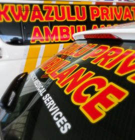 Three injured as truck and minibus taxi collide on Allendale road, Pietermaritzburg