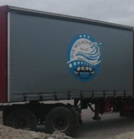 Truck and trailers hijacked by police impersonators