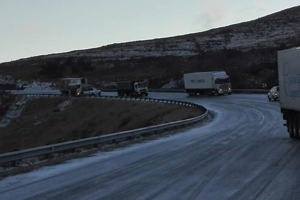 Traffic advisory for the bitterly cold and snowy Eastern Cape