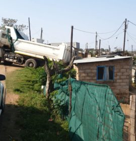 Truck Knocks Into House: Redcliffe – KZN