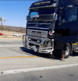 Male driver dies in N1 north collision outside Polokwane
