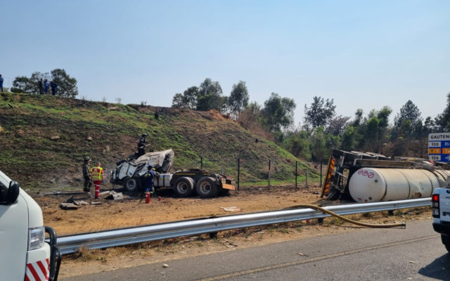 One killed, three injured in a collision on the N1 Highway