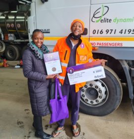 Hollard recognizes the best drivers of  Tautliners, Tankers, Tippers, Flatdecks and Reefers.
