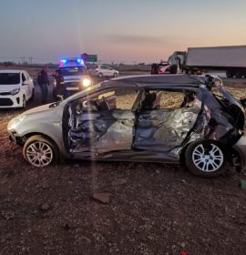 Four deceased, one seriously injured in R42 truck and vehicle collision