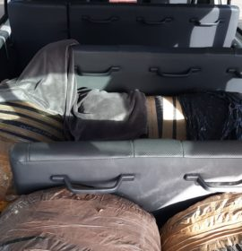 Two men nabbed with a large quantity of dagga