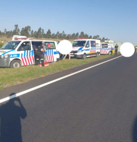 Truck collision on the N3 leaves two critically injured