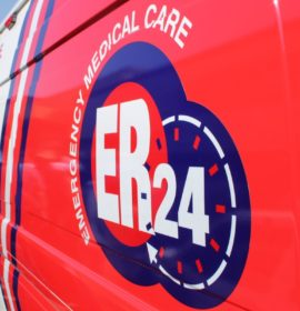 Truck and car collide, leaving woman critically injured on the R40 Hilltop Pass in Neslpruit